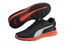 Chaussures de Running Puma IGNITE Argent / Noir / Rouge