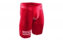 COMPRESSPORT Short TR3 BRUTAL SHORT V2 Rouge