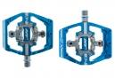 HT Paire de Pédales automatiques X2 Bleu