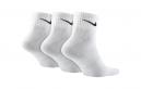 3 Paires de chaussettes Nike LIGHTWEIGHT Blanc