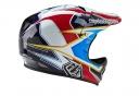 Casco Integral Troy Lee Designs D2 SONAR Blanc / Rouge