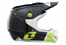 Casco Integral One industries ATOM PHANTOM Blanc / Noir / Vert