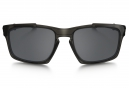 OAKLEY Lunettes SLIVER FORDABLE Gris - Noir Iridium OO9246-02