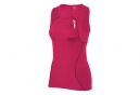 2XU Maillot Triathlon sans Manches de Compression ACTIVE TRI SINGLET Rose Femme