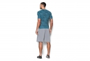 UNDER ARMOUR Maillot de Compression Manches Courtes COOLSWITCH Bleu Gris