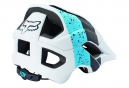 Casque FOX METAH KROMA Blanc Bleu