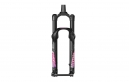 RockShox Pike DJ Solo Air Forks - 26'' 15 mm Axle Tapered - Black/Pink