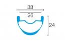 AMERICAN CLASSIC 2016 Paire de Roues CARBONATOR 27,5´´ 15/12x142mm Noir 2016