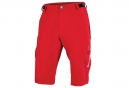 Short ENDURA SINGLETRACK LITE Rouge