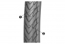 MICHELIN Urban Tire PROTEK MAX 700 mm Tubetype Wire