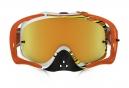 Masque Oakley CROWBAR MX Jaune Orange