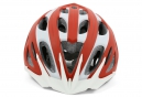 Casque MSC OUTMOLD Rouge Blanc