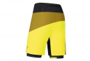 Short 2 en 1 GORE RUNNING WEAR FUSION Jaune