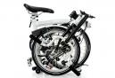 Vélo Pliant Brompton H3L 3 Vitesses - 16''  Blanc 2016