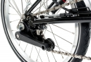 Vélo Pliant Brompton M6L 6 Vitesses - 16''  Noir