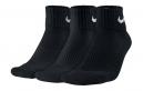 3 Paires de chaussettes Nike LIGHTWEIGHT Noir