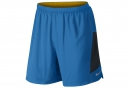 NIKE Short 2-en-1 PURSUIT 2-in-1 18cm Bleu Homme