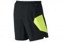 Short 2-en-1 Homme NIKE PURSUIT 2-in-1 18cm Noir