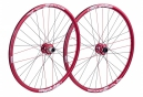 SPANK Wheelset SPIKE SPIKE RACE28 BEAD 27.5'' Front 20x110mm | Rear 12x135mm Red