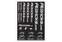 Planche de Stickers ALLTRICKS Noir