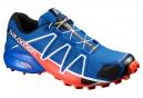 Chaussures de Trail Salomon SPEEDCROSS 4  Bleu / Orange