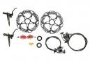 SHIMANO Pair of Disc Brake XTR Trail M9020 I-Spec 2 J Kit 180mm