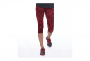 Legging 3/4 THE NORTH FACE Pulse Capri Femme Rouge imprimé