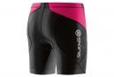 Cuissard Triathlon SKINS TRI400 Femme Noir Rose