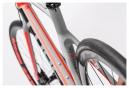 Vélo de Route Cube Attain GTC Pro Disc Shimano 105 11V 2016 Gris / Rouge