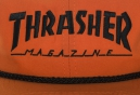 Casquette THRASHER ROPE SNAPBACK Orange Noir