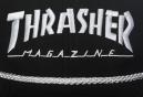 Casquette THRASHER ROPE SNAPBACK Noir Blanc