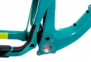 Kit Cadre SANTA CRUZ Nomad 3 Carbon Bleu/Jaune M + Fourche ROCKSHOX Lyrik RCT3 Solo Air 180 27.5´´ BOOST