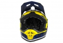Casco Integral O'Neal FURY RL  AFTERBURNER Bleu