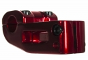 SUNDAY FREEZE Top Load Stem 52mm Trans Red