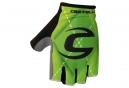Gants Courts CASTELLI ROUBAIX Team Cannondale Vert