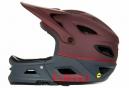 Casque avec Mentonnière Amovible GIRO Switchblade MIPS Rouge Bordeaux Gris