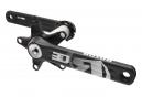 Manivelles ROTOR 3D30 Double 110mm Noir/Gris