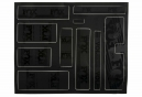 Kit Stickers FOX RACING SHOX HERITAGE 2017 Noir Stealth