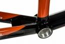 Cadre BMX Race MEYBO HOLESHOT Noir Blanc Orange