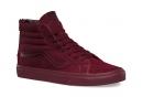 Paire de chaussures VANS SK8 Hi Reissue ZIP Bordeaux