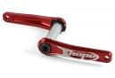 HOPE Pédalier 68/73mm Rouge (sans étoile)