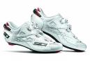 Chaussures Route Sidi Shot  Blanc / Blanc