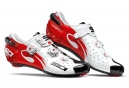 Chaussures Route Sidi Wire Noir / Blanc / Rouge