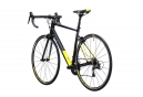 Vélo de Route Cube Attain SL Shimano 105 11V 2017 Noir / Jaune