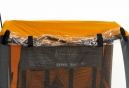 Remorque Velo ADVENTURE ST4 Orange
