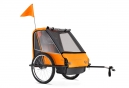 Remorque Velo ADVENTURE ST4 Orange