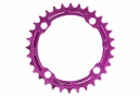 Race Face Narrow Wide Single Chainring 104 mm BCD Purple