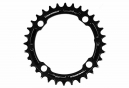 Race Face Narrow Wide Single Chainring 104mm BCD Black
