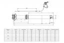 Tige de Selle Télescopique KIND SHOCK LEV INTEGRA Remote Débattement 125mm