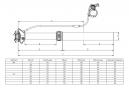Tige de Selle Télescopique KIND SHOCK Supernatural Remote Débattement 100mm